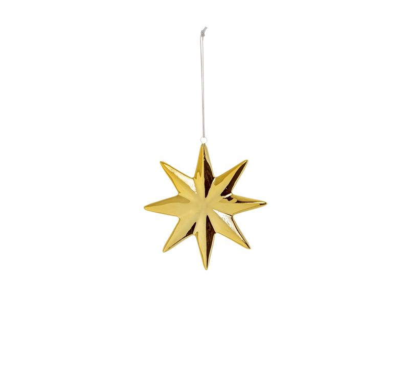 Bloomingville Julgranspynt Stjärna Guld 0739eb2e9985a