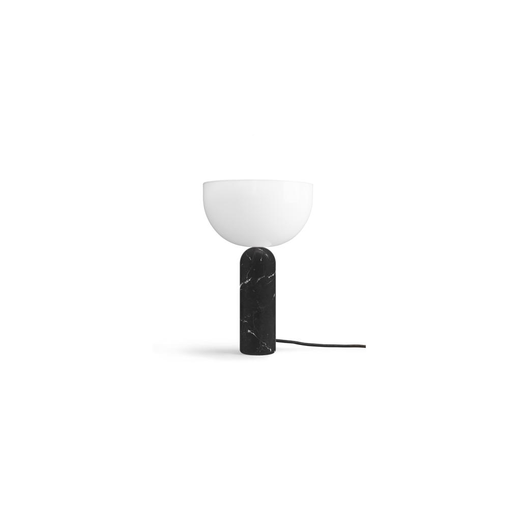 New Works Kizu Svart Marmor Large Bordslampa Sävedalens Belysning