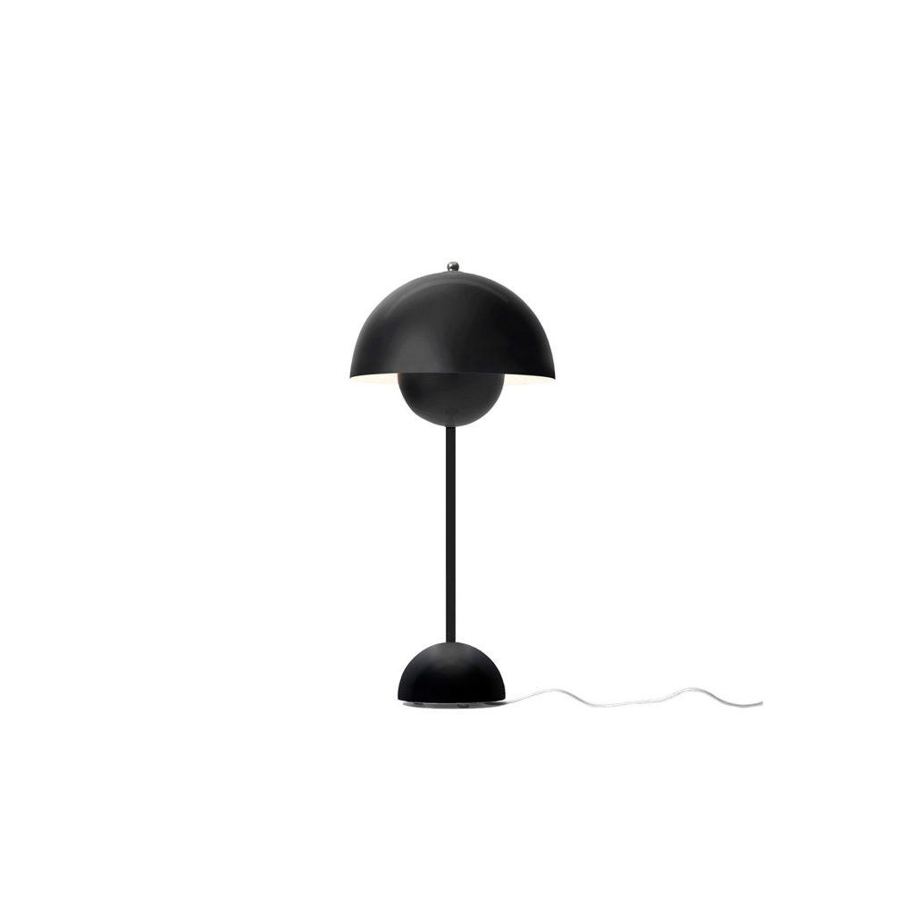 &Tradition Flowerpot VP3 Bordslampa Matt Black Sävedalens Belysning